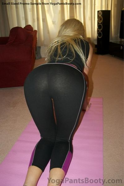 Yoga Pants Booty download